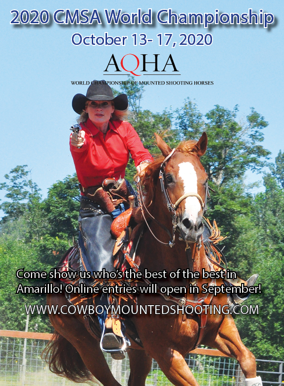 CMSA World and AQHA World of Mtd. Shooting Horses