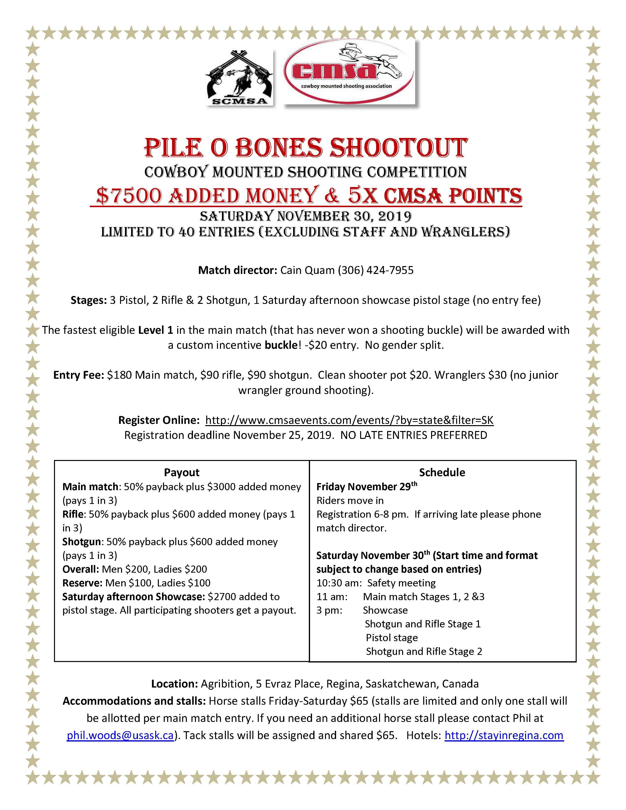 Pile O' Bones shootout