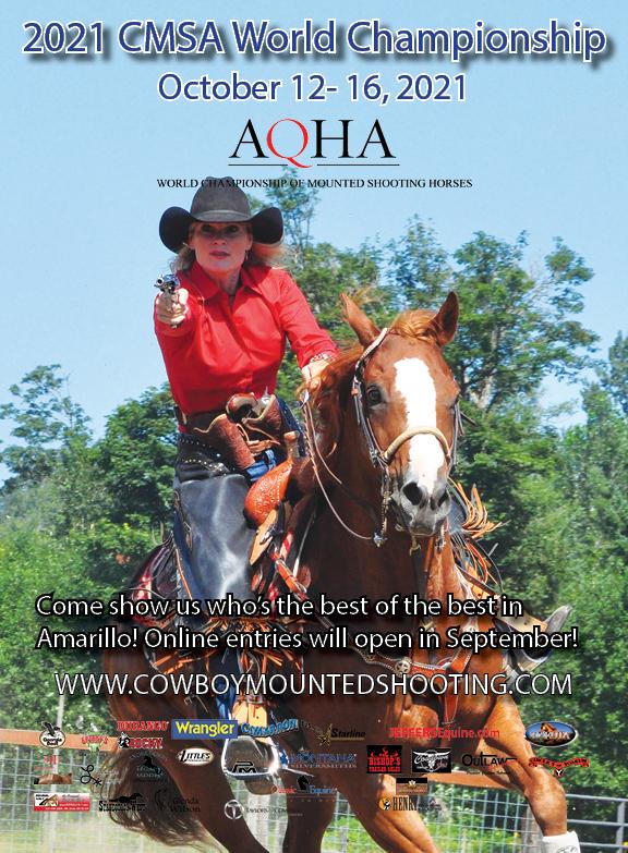 CMSA World and AQHA World of Mtd. Shooting Horses