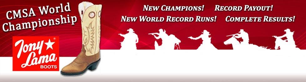 CMSA Tony Lama World Championship