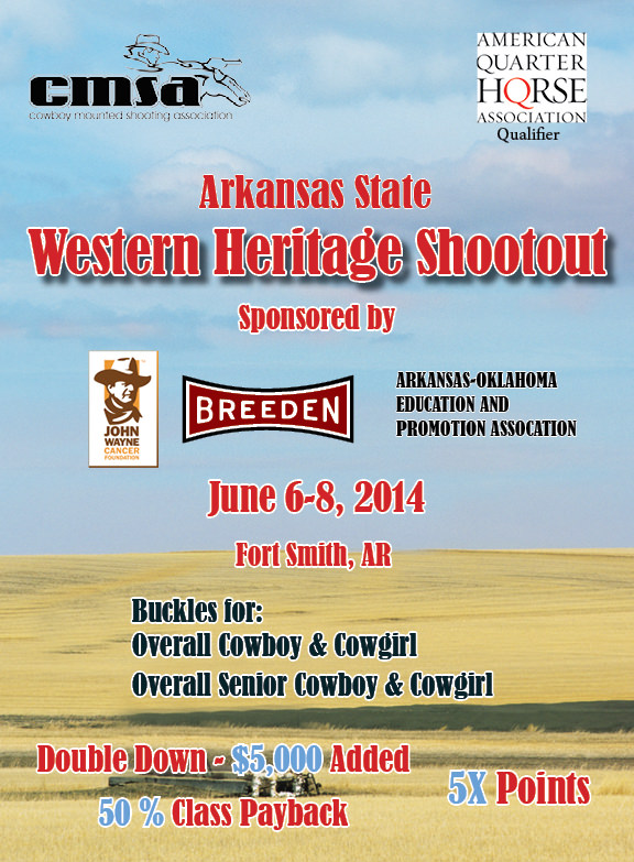 CMSA Arkansas State Western Heritage Shoot-out