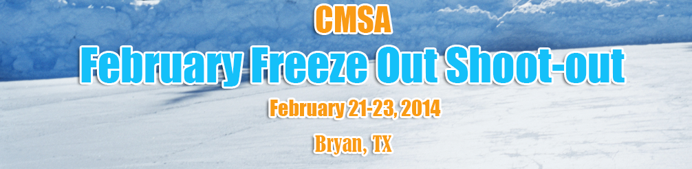 CMSA February freeze out Shoot-out
