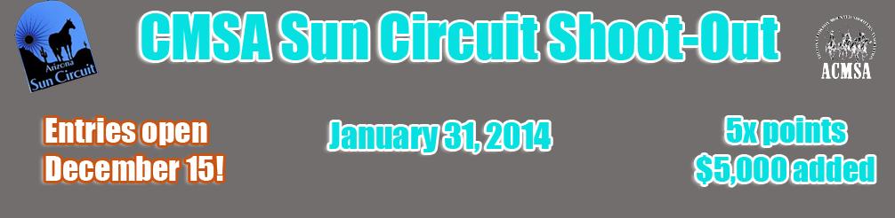 CMSA Sun Circuit Shoot-Out