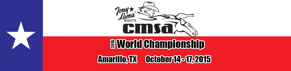CMSA Tony Lama World Championship