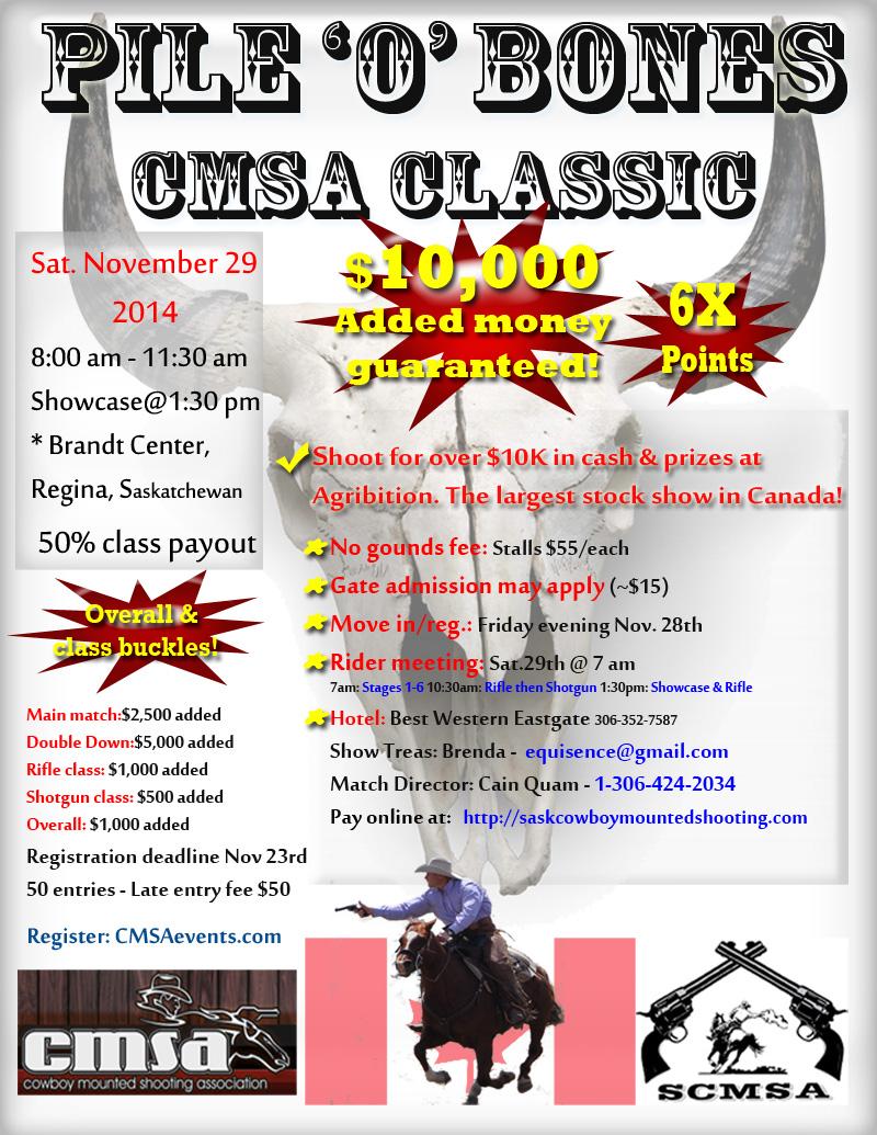 Pile 'O' Bones CMSA Classic