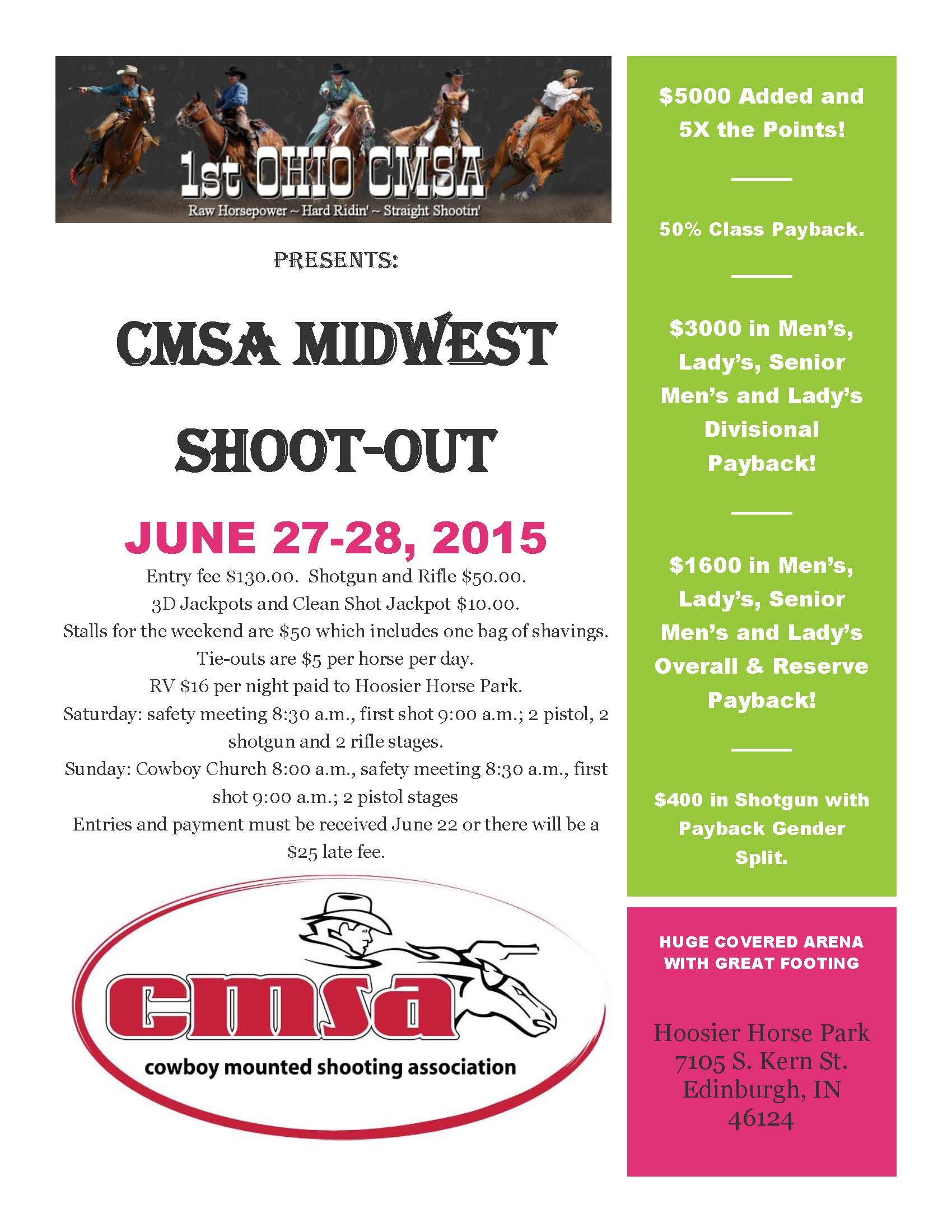 Midwest CMSA Shoot-Out!