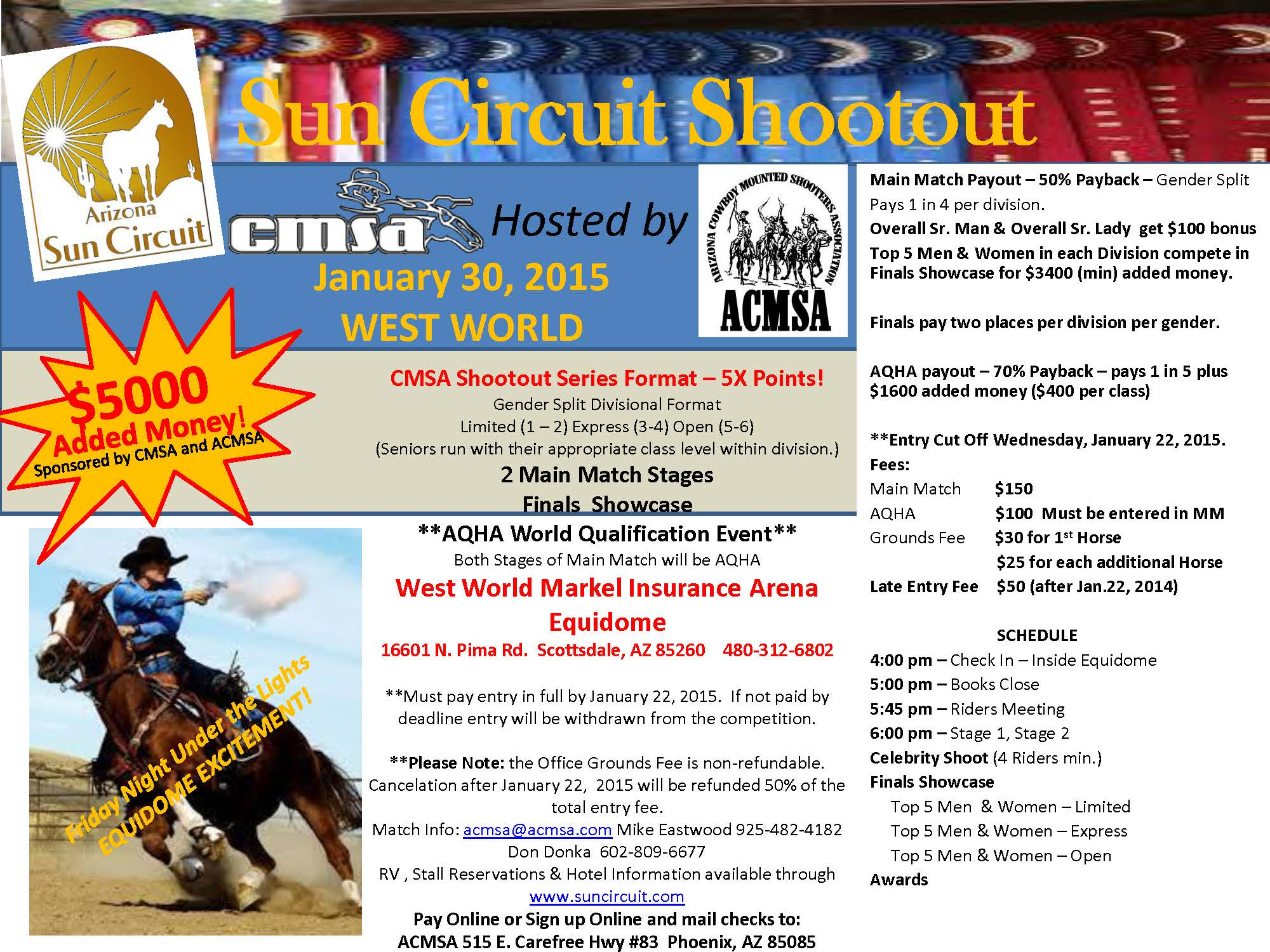 CMSA Sun Circuit Shootout