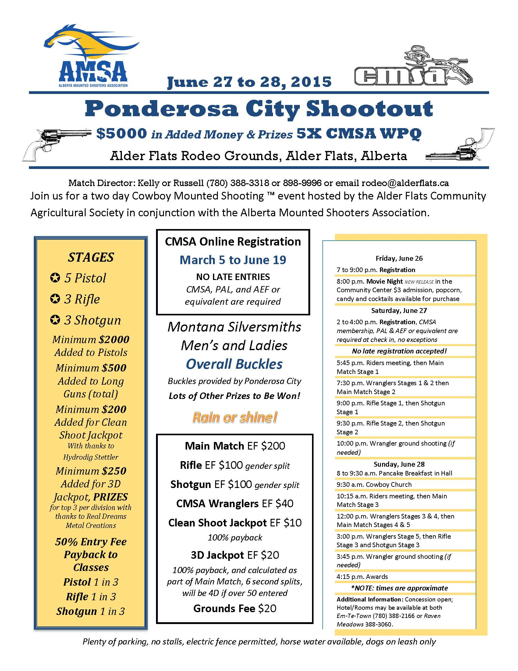 Ponderosa City Shootout