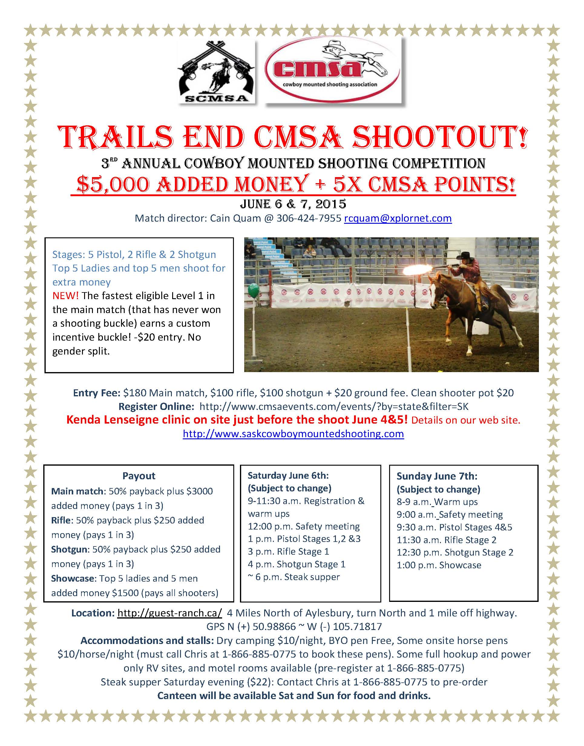 Trails End Shootout