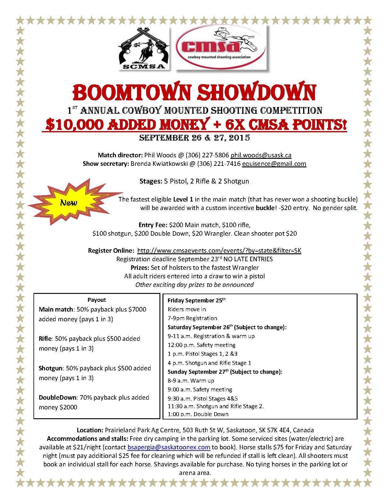 Boomtown Showdown