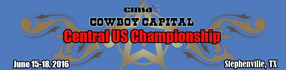 CMSA Cow`boy Capital Central US Championship