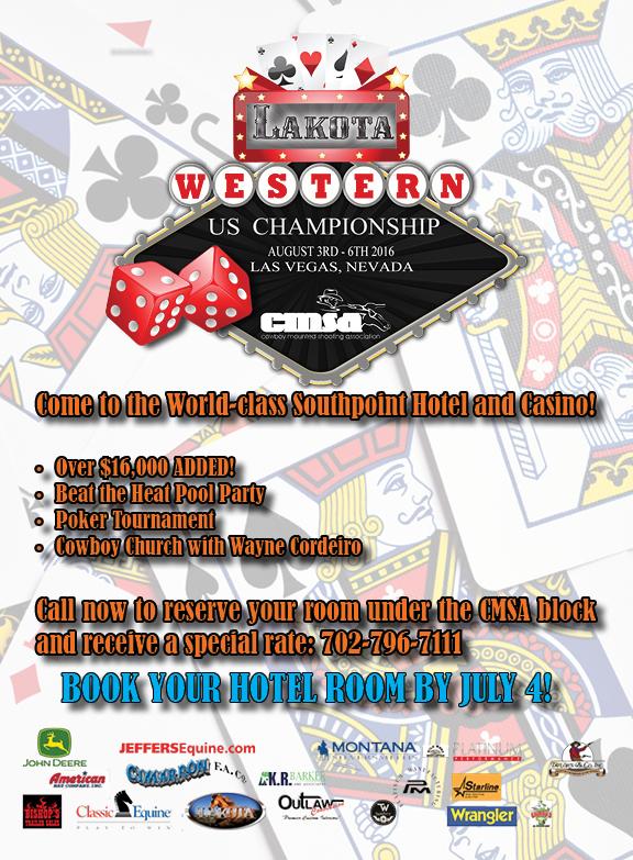 CMSA Lakota Western US Championship