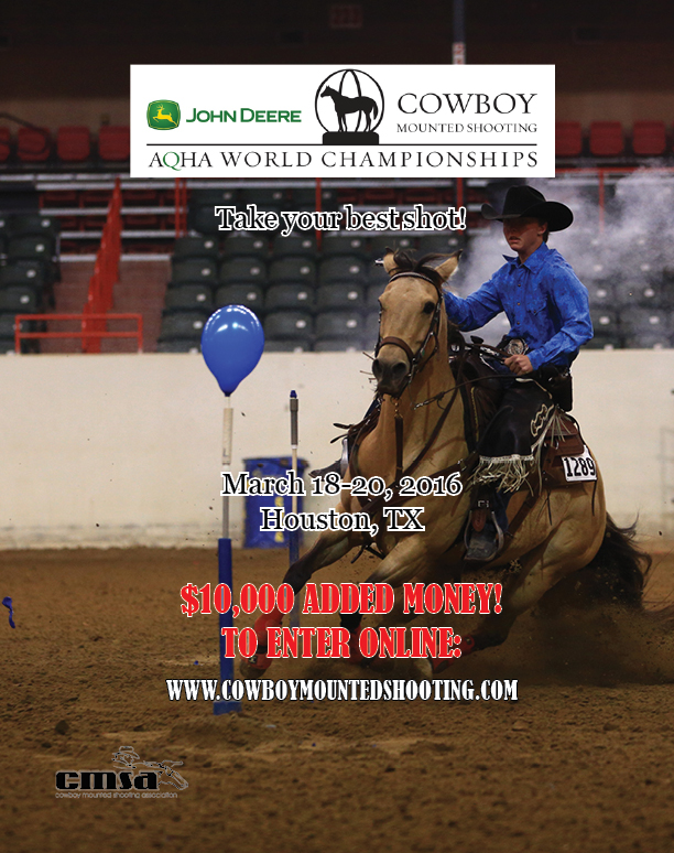 AQHA Cowboy Mounted Shooting World Championship