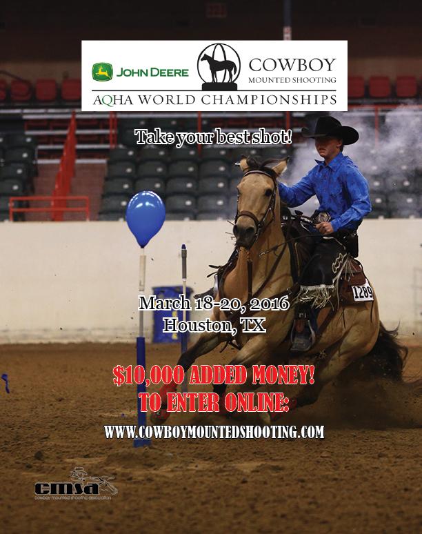 AQHA Cowboy Mounted Shooting World Championship