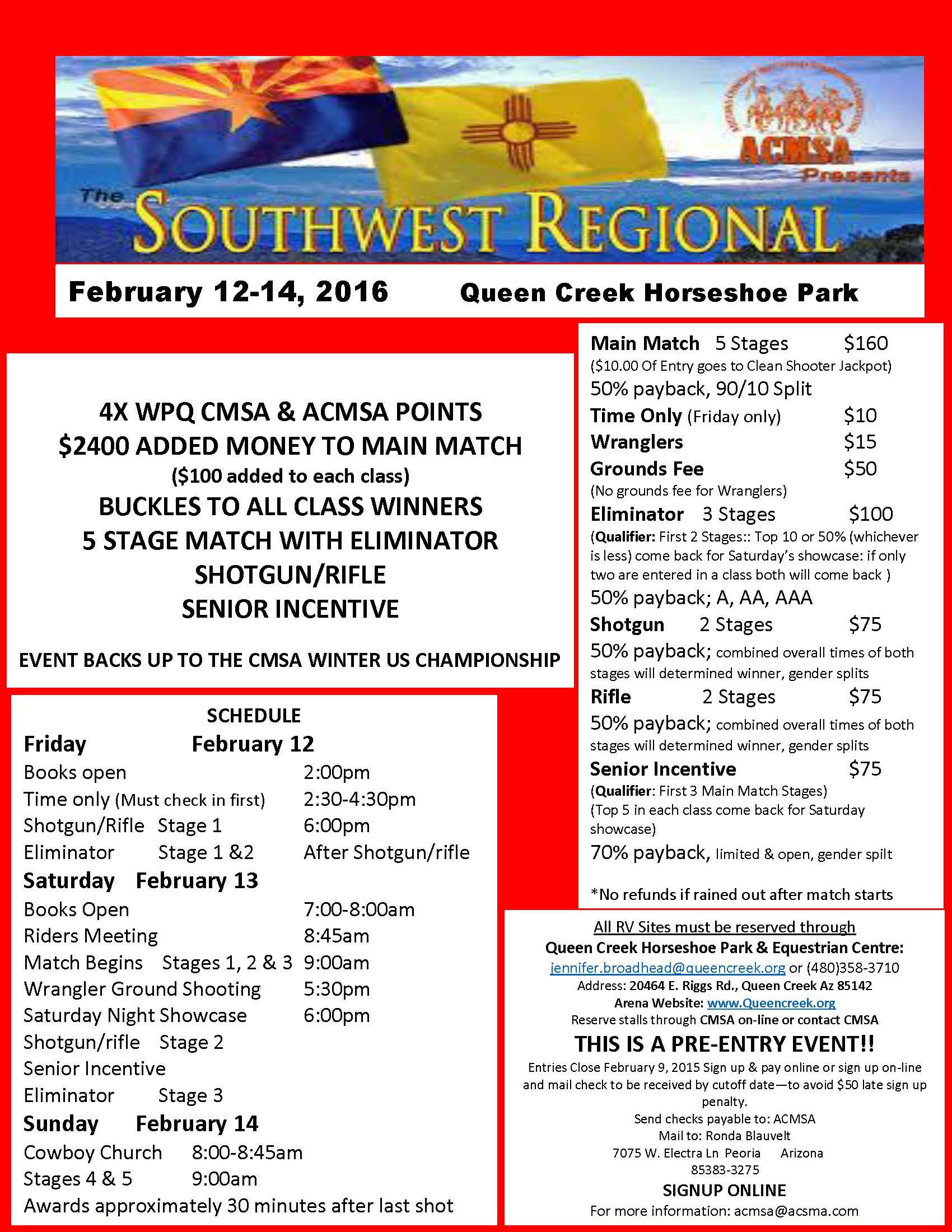 Southwest Regionals