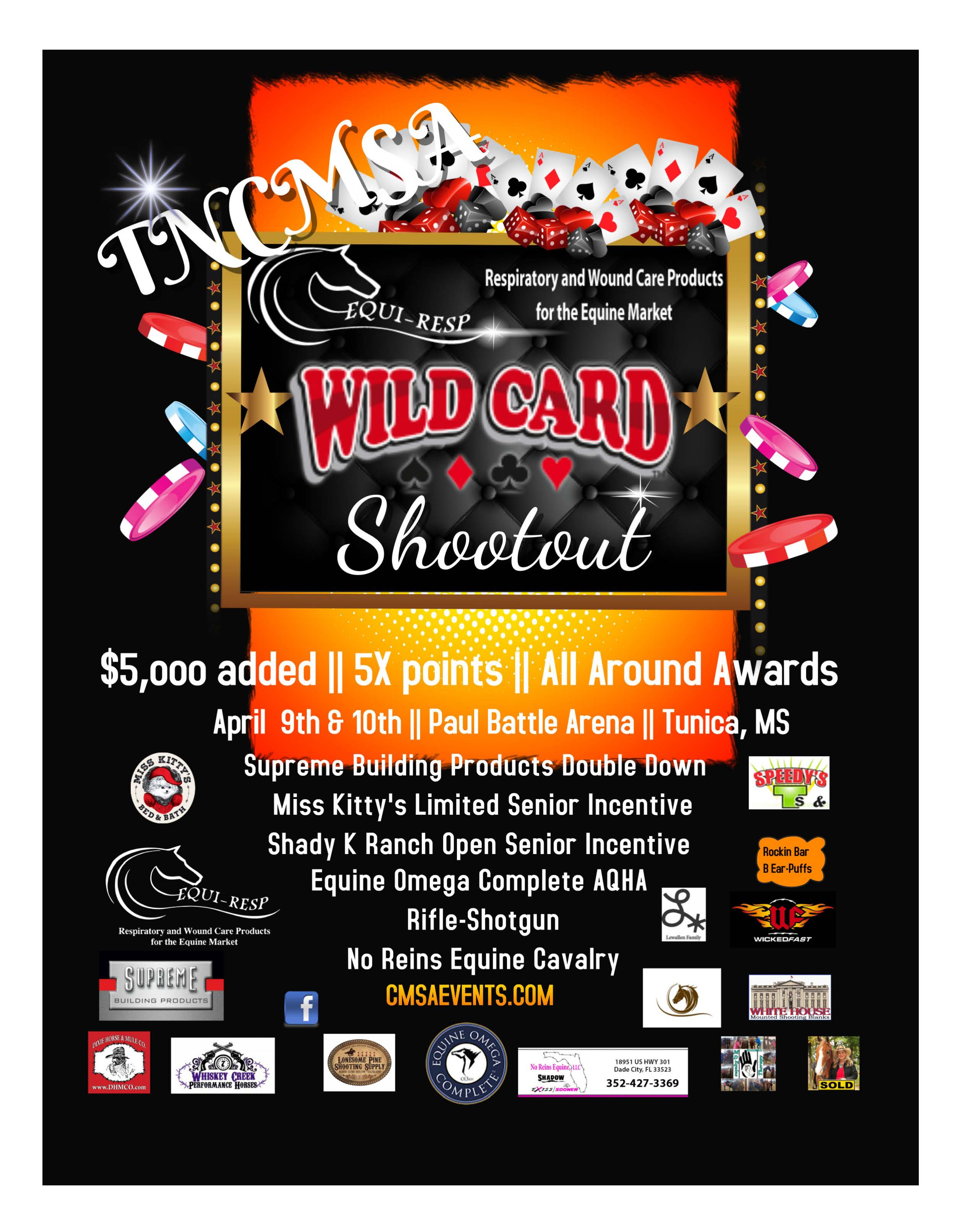 Equi Resp Wild Card Shootout