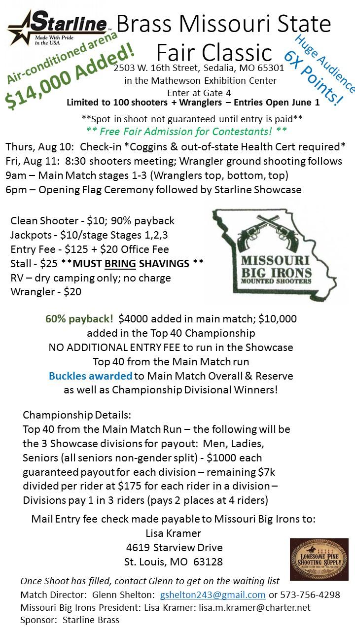 Starline Brass Missouri State Fair Classic
