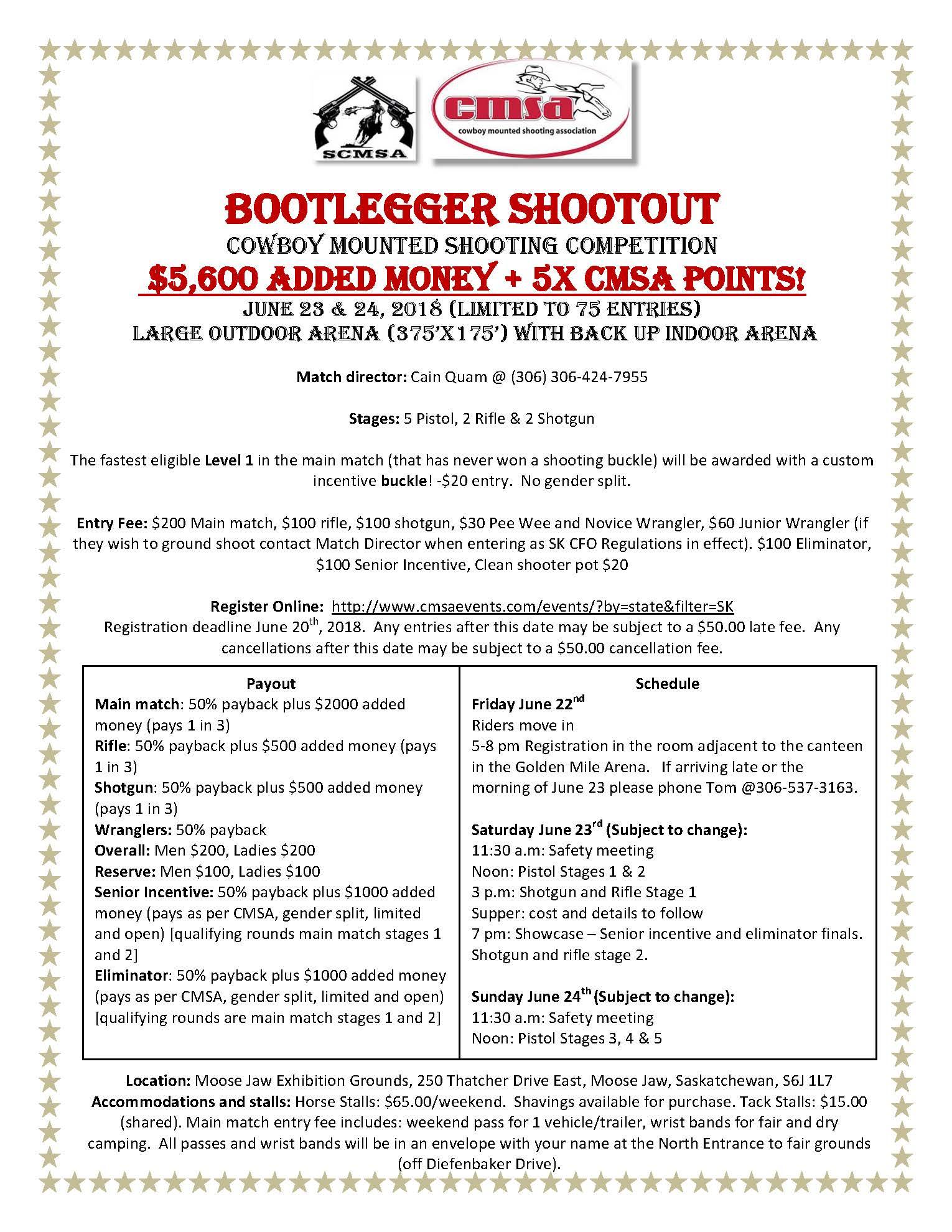 Bootlegger Shootout