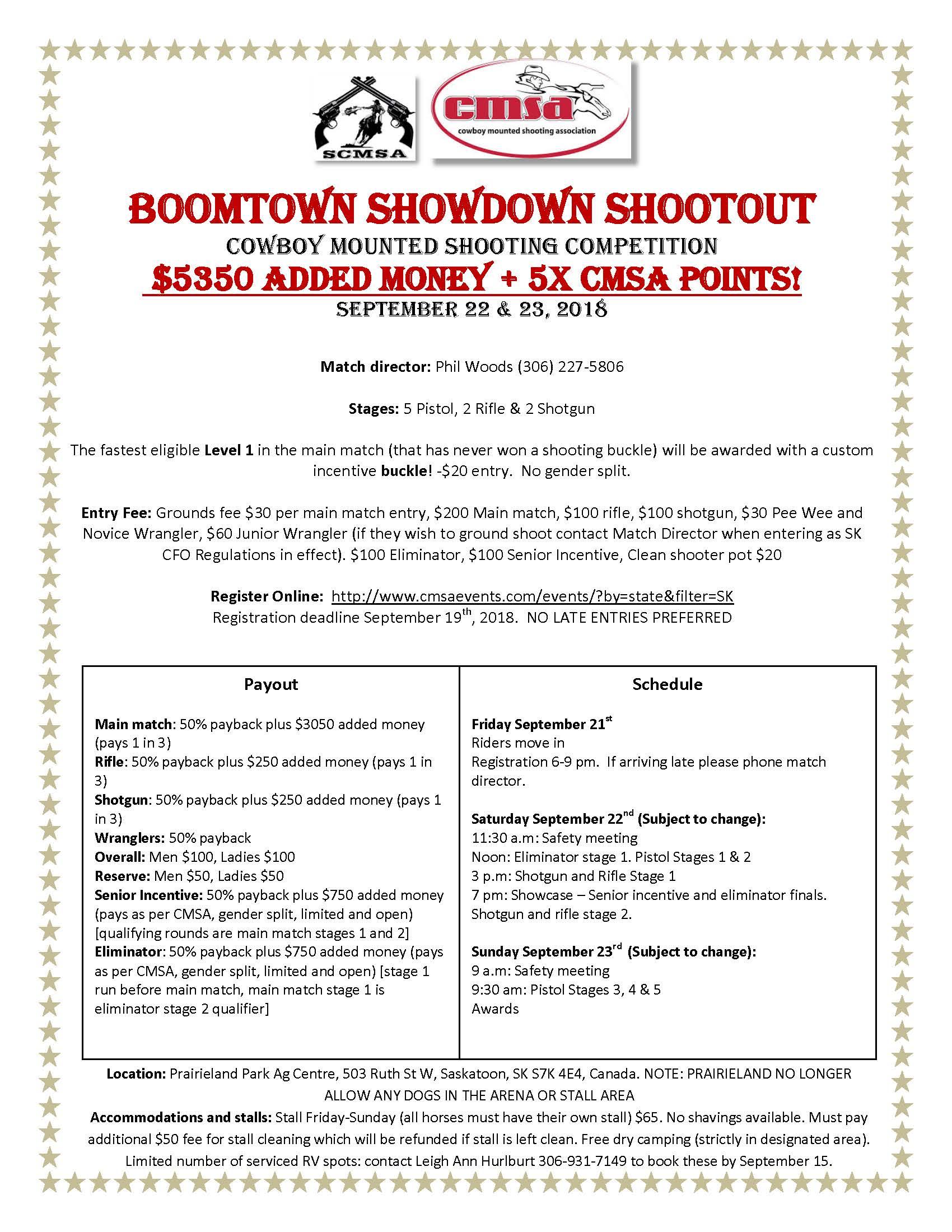 Boomtown Showdown Shootout