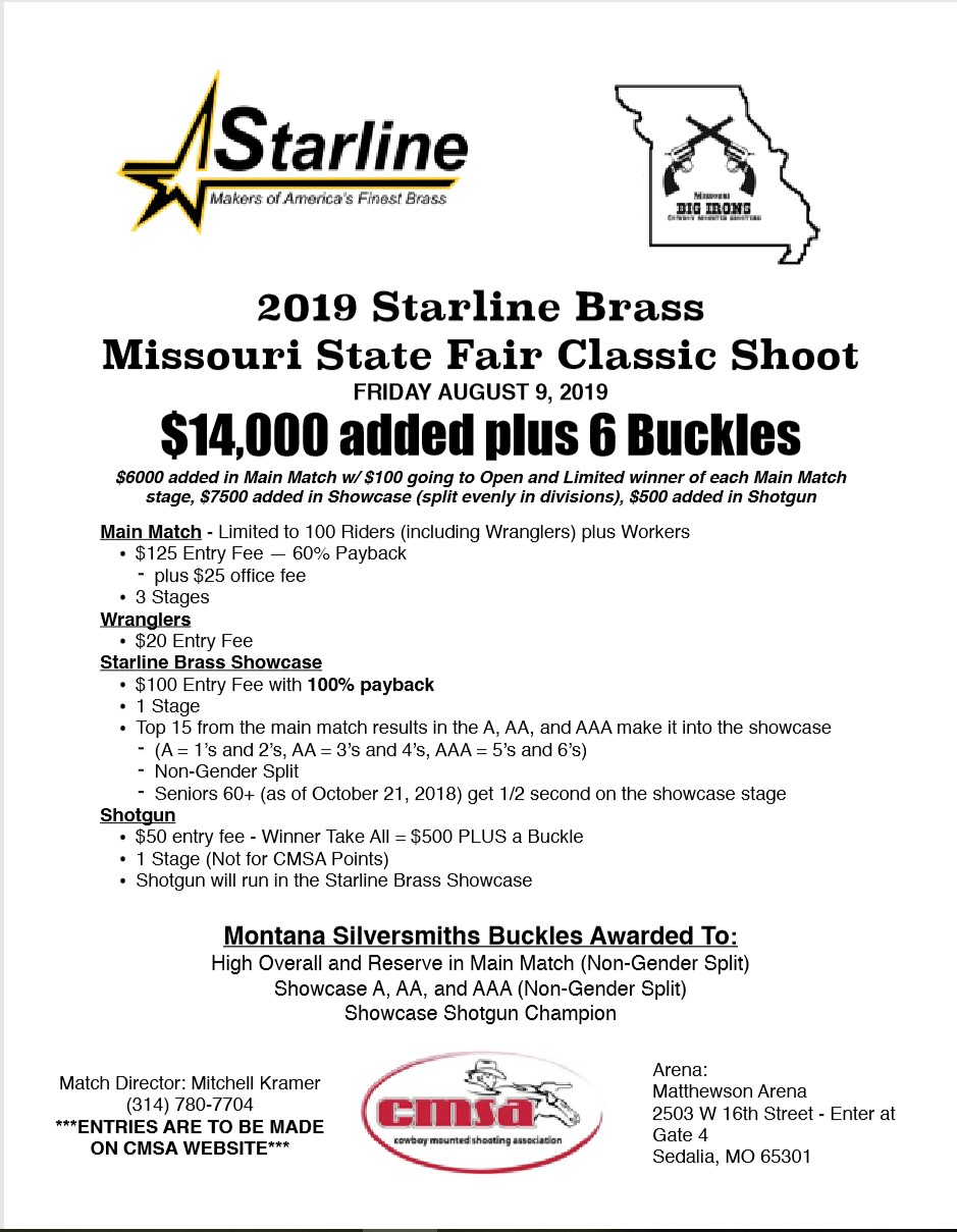 Starline Brass Missouri State Fair Classic